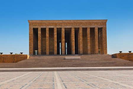 mausoleum: Mustafa Kemal Ataturk mausoleum at Ankara Turkey Editorial