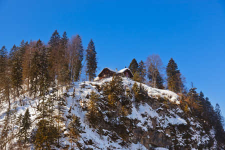 Mountains ski resort St. Gilgen Austria - nature and sport background photo