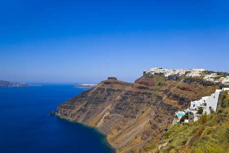 firostefani: Santorini View (Firostefani) - vacation background