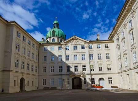 Royal palace in Innsbruck Austria - architecture and travel background