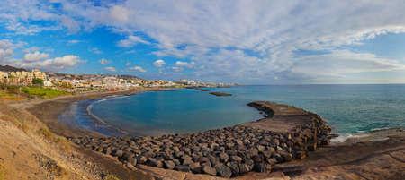 Beach Las Americas in Tenerife island - Canary Spain 版權商用圖片