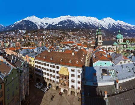 Innsbruck, Austria Reklamní fotografie