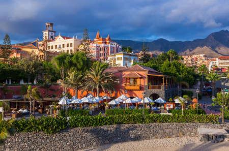 Beach Las Americas in Tenerife island - Canary Spain Reklamní fotografie - 32918304