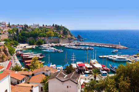 Old town Kaleici in Antalya, Turkey - travel background Zdjęcie Seryjne