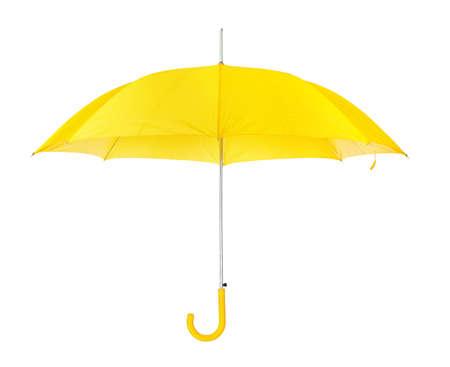 Geopende paraplu geïsoleerd op witte achtergrond