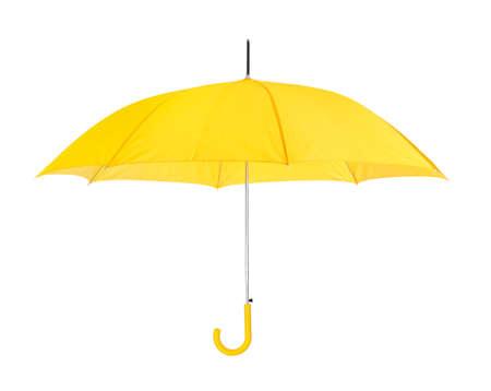 Paraguas abierto aisladas sobre fondo blanco