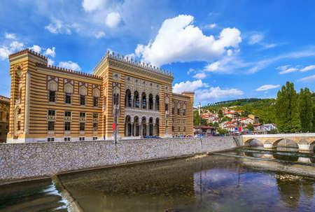 National library in Sarajevo - Bosnia and Herzegovina