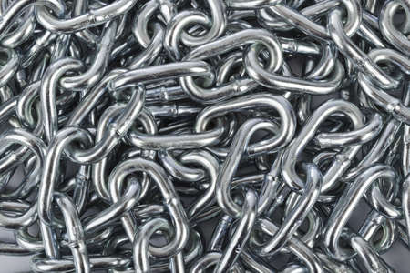 チェーン ヒープ - 金属の抽象的な背景