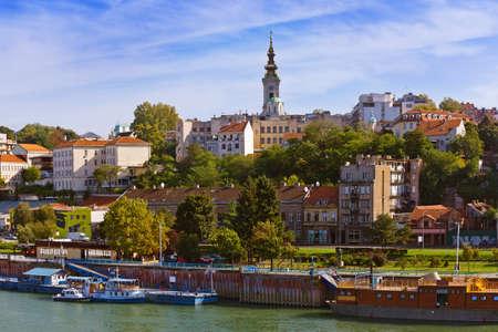 Belgrad Stadtbild - Architektur Reisen Hintergrund