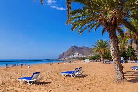 Plaża Teresitas na Teneryfie - Wyspy Kanaryjskie Hiszpania