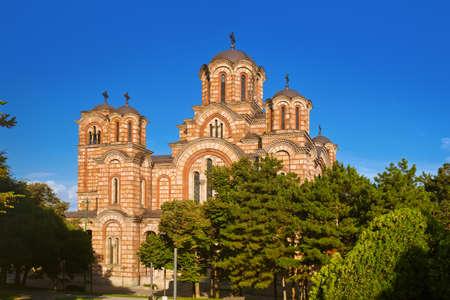 Saint Marko Church in Belgrade - Serbia - architecture travel background