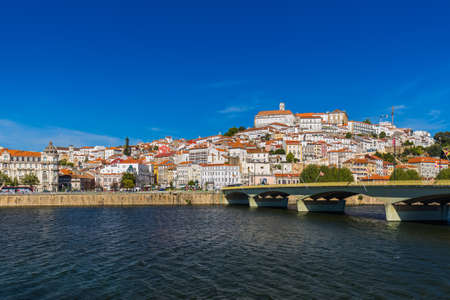 Coimbra old town in Portugal - architecture background Stock Photo