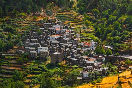 Village near Piodao - Portugal - architecture background Фото со стока