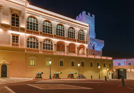 Prince palace in Monaco - travel and architecture background