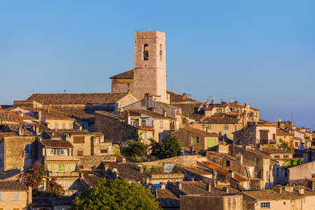Town Saint Paul de Vence in Provence France - travel and architecture background