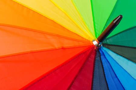 Colorful umbrella - abstract fashon background