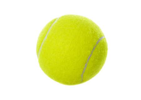 Tennis ball isolated on white background Stok Fotoğraf