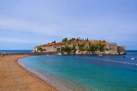 Montenegro - architecture and nature background