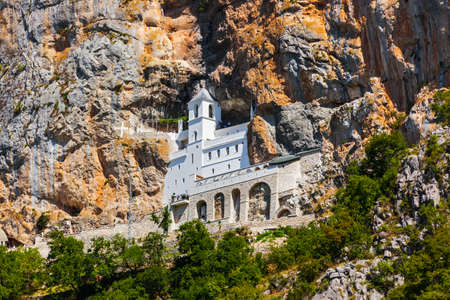 Ostrog monastery - Montenegro - architecture travel background 写真素材 - 109522384