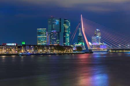 Rotterdam cityscape - Netherlands - architecture background Фото со стока