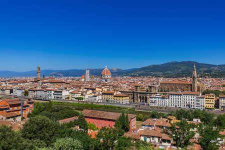 Florence cityscape - Italy - architecture background Stock Photo