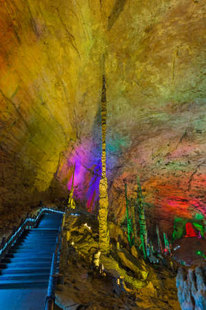 Huanglong Yellow Dragon Cave - China - nature travel background Reklamní fotografie