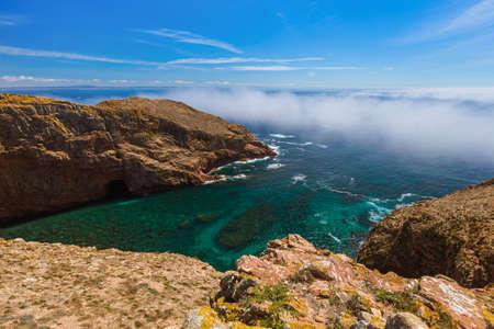 Berlenga island - Portugal - nature background Stockfoto