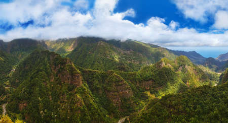 Balcoes levada panorama - Madeira Portugal - travel background Reklamní fotografie