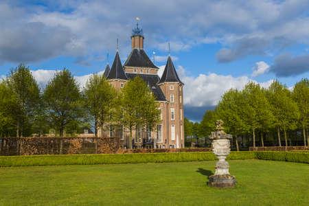 Castle Kasteel Heemstede near Utrecht Netherlands - architecture background Standard-Bild - 122442535