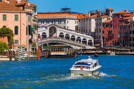 Grand Canal in Venice Italy - architecture background