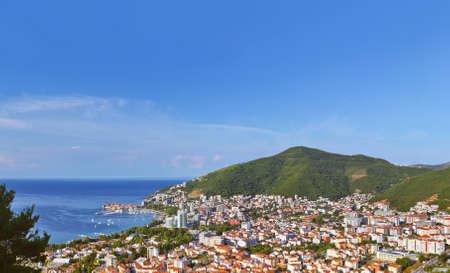 Budva Montenegro - architecture travel background