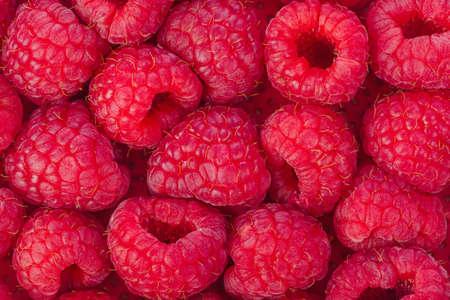 Heap od Raspberry - food background