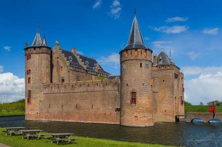 Muiderslot castle near Amsterdam - Netherlands - architecture background