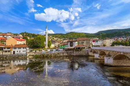 Old town Sarajevo - Bosnia and Herzegovina - architecture travel background Archivio Fotografico