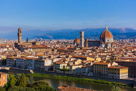 Duomo in Florence - Italy - architecture background