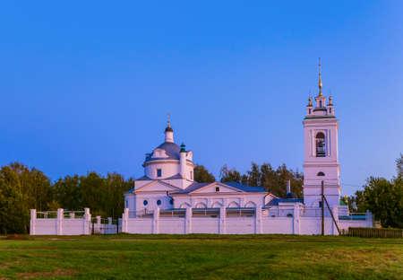 Church in the village of Konstantinovo (homeland of the Russian poet Sergei Yesenin) - Ryazan region - Russia