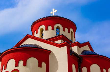 Kovilj Monastery in Fruska Gora at Serbia Archivio Fotografico