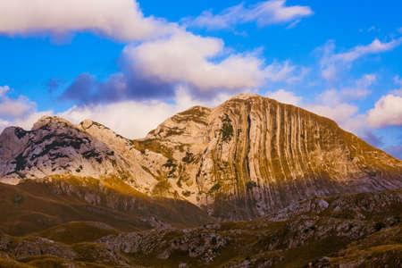 National mountains park Durmitor in Montenegro - nature travel background Zdjęcie Seryjne