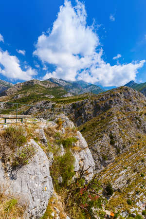 Bar Old Town - Montenegro - nature and architecture background