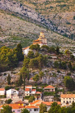 Monastery in Trebinje - Bosnia and Herzegovina - architecture travel background