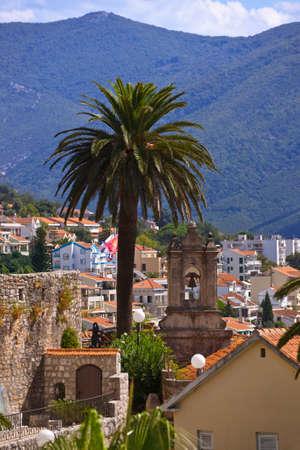 Herceg Novi Old Town - Montenegro - nature and architecture background