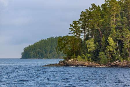 Nature of Valaam Island - Karelia Russia - travel background