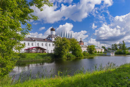 Tikhvin Monastery - Leningrad region Russia Zdjęcie Seryjne
