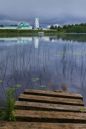 The Svirsky male monastery in the village of Old Sloboda - Leningrad region Russia