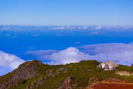Hiking Pico Ruivo and Pico do Arierio - Madeira Portugal - travel background Zdjęcie Seryjne