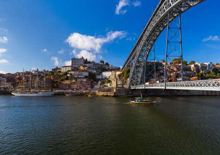 Porto old town in Portugal - architecture background Zdjęcie Seryjne