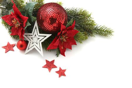 Christmas card decorations photo