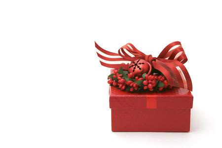 cadeau anniversaire: Joliment d�cor� bo�te de petit cadeau d'anniversaire
