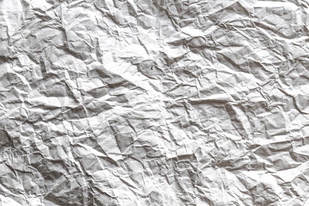 white textured paper: Closeup of crumpled white paper textured background