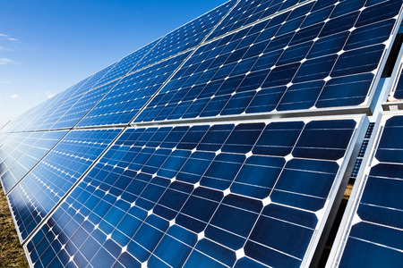 Solar panel installation photo